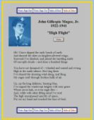 photo regarding High Flight Poem Printable titled Army fighter pilot text
